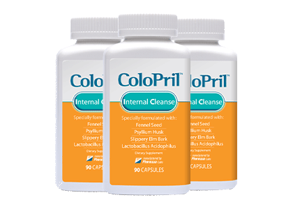 Three Bottles of Colopril